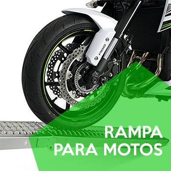 rampa para subir motos